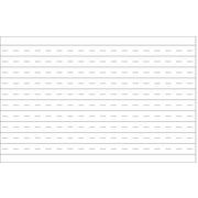 AARCO Wall Mounted Graphic Whiteboard, 4' H x 6' W