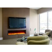 Dynasty 63'' Built-in LED Electric Fireplace