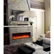 Dynasty 55'' Built-in LED Electric Fireplace