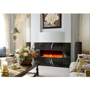 Dynasty 44'' Built-in LED Electric Fireplace