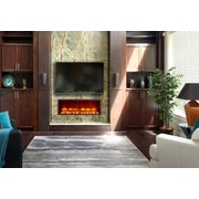 Dynasty 35'' Built-in LED Electric Fireplace