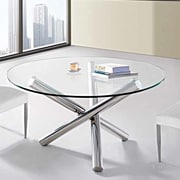 Creative Images International Dining Table; Clear