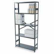 Tennsco Commercial 75'' H 4 Shelf Shelving Unit Starter