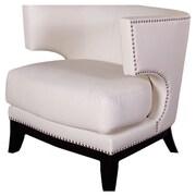 Armen Living Eclipse Club Chair; Cream