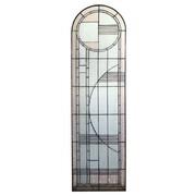Meyda Tiffany Arc Deco Prairie Left Sided Stained Glass Window