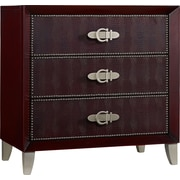 Hooker Furniture Melange Croc Chest; Red