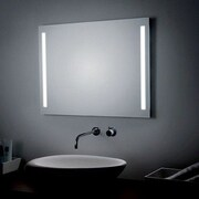 WS Bath Collections LED Lighted Wall Bathroom Mirror; 23.6'' H x 31.5'' W x 0.5'' D