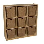 Wood Designs Compartment 49'' Cube Unit Bookcase