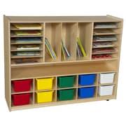 Wood Designs Multi-Storage Cabinet
