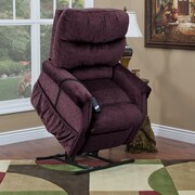 Med-Lift 1100 Series 3 Position Lift Chair w/ Heat; Vino