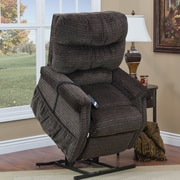 Med-Lift 1100 Series 3 Position Lift Chair w/ Heat; Godiva