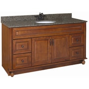 Design House Montclair 60'' Double Door Cabinet Vanity Base