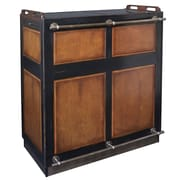 Authentic Models Casablanca Bar; Black and Distressed Honey