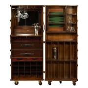 Authentic Models Stateroom Bar w/ Wine Storage; Ivory with Honey