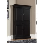 American Heritage Francesca Bar Cabinet with Wine Storage