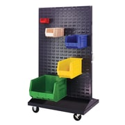Quantum Mobile Double Sided Louvered Rack