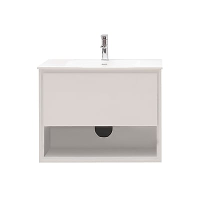 Avanity Sonoma 32'' Single Bathroom Vanity Set; Glossy white