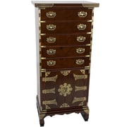 Oriental Furniture Korean 5 Drawer Chest