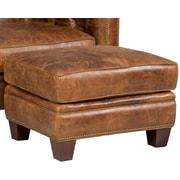 Hooker Furniture Ottoman; Leather - Malawi Tonga