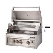 Sunstone Grills 28'' Gas Grill w/ 3 Burners Infrared; Natural