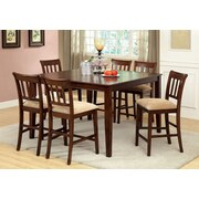 Hokku Designs Telmore 7 Piece Counter Height Dining Set