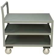 Durham Manufacturing 14 Gauge Steel Low Deck Service Utility Cart