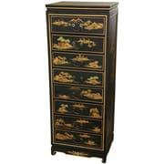 Oriental Furniture Landscape 8 Drawer Cabinet