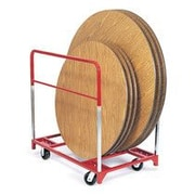 Raymond Products 46'' x 32.75'' x 48'' Round Folding Table Dolly