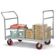 Raymond Products 38'' x 30'' x 54'' Heavy Duty Truck and Quiet Poly Casters Platform Dolly