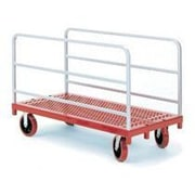 Raymond Products 38'' x 30'' x 54'' Heavy Duty Panel/Sheet Mover Quiet Poly Casters Table Dolly
