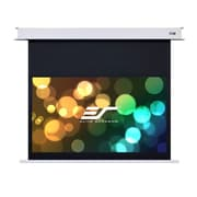 Elite Screens Evanesce Series, Recessed In-Ceiling Electric Projection Screen; 110'' Diagonal