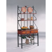 Wildon Home   Ferdonia Storage Baker's Rack
