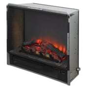 The Outdoor GreatRoom Company Gallery Led Built in Wall Mount Electric Fireplace Insert