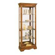 Philip Reinisch Co. Traditional Oak Andante II Curio Cabinet