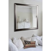 Rayne Mirrors Sleek Silver Wall Mirror; 24'' H x 20'' W x 0.75'' D