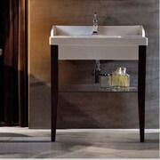 WS Bath Collections Bentley 39'' Single Wood Bathroom Vanity Set; Three Hole