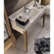 WS Bath Collections Bentley 32'' Single Wood Bathroom Vanity Set; Single Hole
