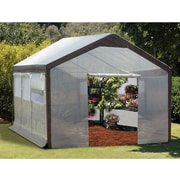 Jewett Cameron Spring Gardener 10 Ft. W x 20 Ft. D Polyethylene Gable Greenhouse