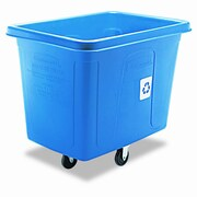 Rubbermaid Commercial Products Rubbermaid 119.7-Gal Recycling Cube Truck Book Cart