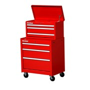 International 27'' Wide 6 Drawer Combination Sets; Red