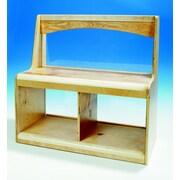 Korners 15.38'' Deep Open Back Window Room Divider