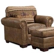 American Furniture Classics Wild Horses Lodge Chair