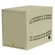 Datum Storage 5-Compartment Laptop Storage and Charging Cart; Bone White