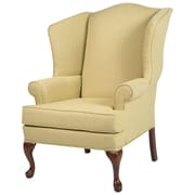 Comfort Pointe Erin Wing Back Chair; Yellow