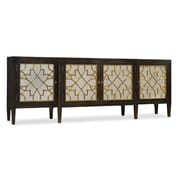 Hooker Furniture Hooker Furniture Living Room Sanctuary Four Door Mirrored Console