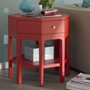 Somerton Dwelling Improv End Table; Red