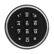 Blue Dot Safes B Rated Lock Floor Safe 2.37 CuFt; Safeguard Electronic Keypad and Lock