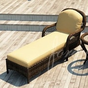 Forever Patio Leona Chaise Lounge with Cushion