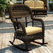 Forever Patio Leona Dining Arm Chair with Cushion