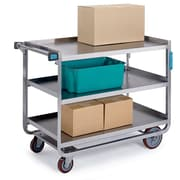 Lakeside Manufacturing Utility Cart; 37.38'' H x 22.75'' W x 39'' D